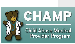 Champ Program Child Abuse Medical Provider Program